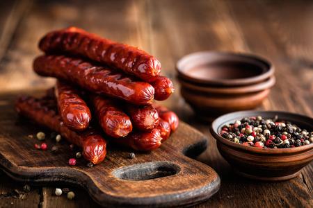 sausages: Sausages Stock Photo
