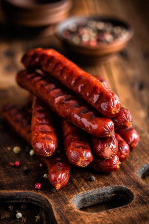 frankfurters: Sausages Stock Photo