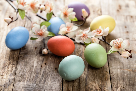 huevos de pascua: huevos de Pascua Foto de archivo