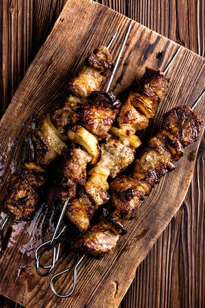 carne asada: kebab