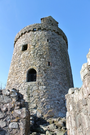 dumfries and galloway: Tower House built by John cairns in 1555 situated in Dumfries and Galloway Scotland