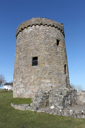 cairns: Tower House built in 1555 by John Cairns and located in duumfries and Galloway