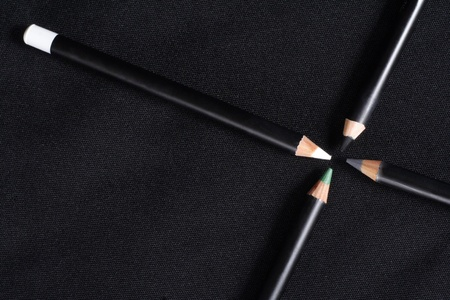4 pencils for a make-up