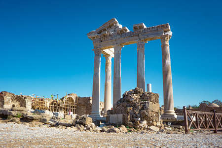 ruins and excavations in Turkey pamukkale historical