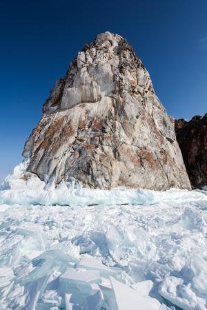cusp: Cusp and ice at the Baikal lake
