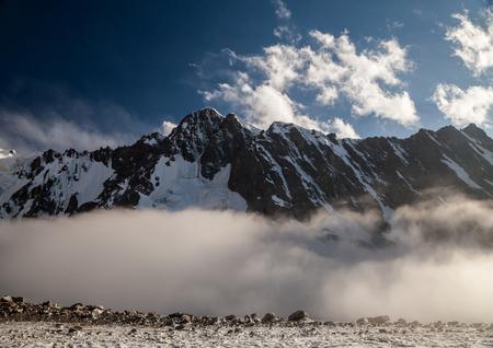 Beautiful mountain landscape at Tian Shan mountains. Kyrgyzstan Reklamní fotografie