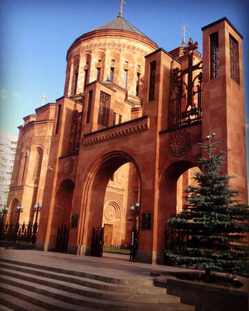 Russian old church in Moscow