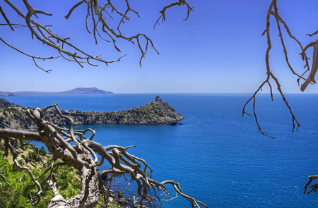 promontory: View of Kapchik promontory between branches