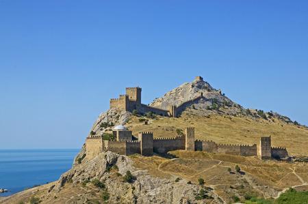 sudak: Genoese fortress in Sudak