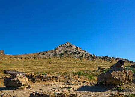 genoese: Inside the Genoese fortress in Sudak Editorial