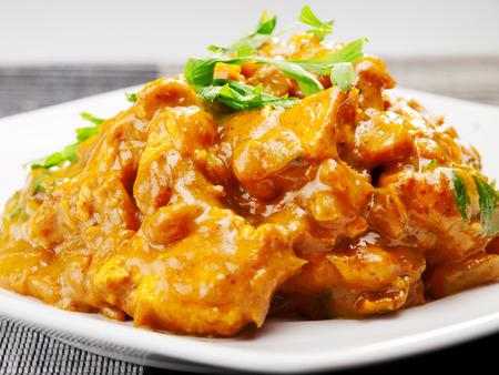 curry chicken: Chicken tikka masala - indian meal
