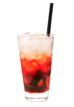 amaretto: Alabama slammer cocktail Stock Photo