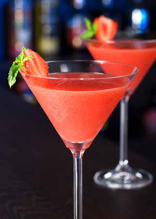 upperdeck view: Strawberry Daiquiri Archivio Fotografico