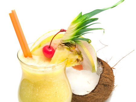 pina colada: Pina colada cocktail