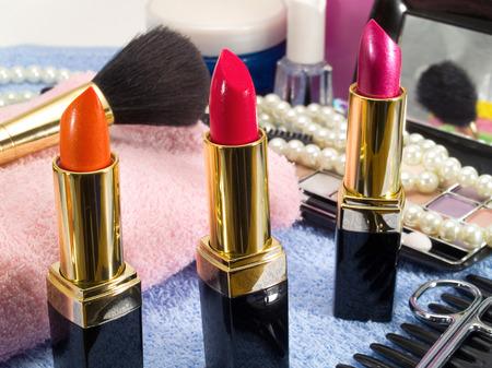 Make up Standard-Bild