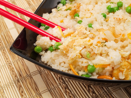 chinese cuisine: Chinese Rice With Vegetables