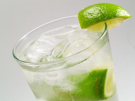 gin: Gin rickey cocktail