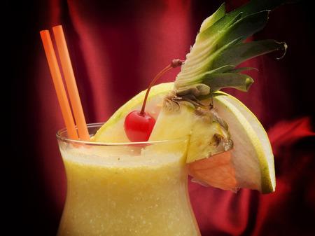 pina: Pina colada cocktail