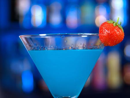 curacao: Blue curacao cocktail