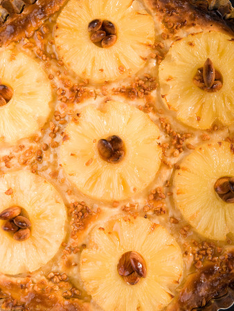 ready to eat: Close up of pineapple tart ready to eat Stock Photo
