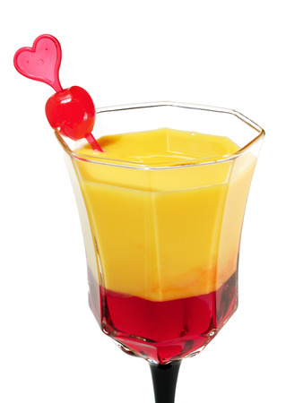 bleeding heart: Bleeding heart cocktail Stock Photo