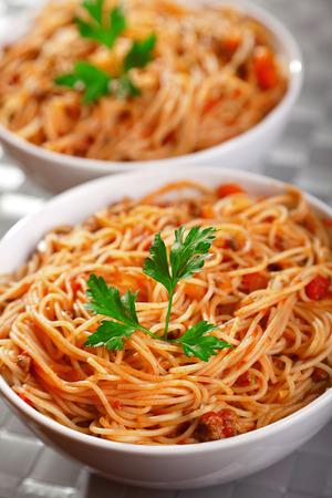spaghetti bolognese: Spaghetti bolognese