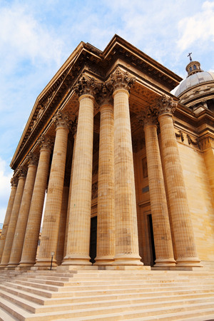 neo classical: Pantheon museum in Paris, France