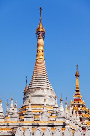 buddhist stupa: Kuthodaw Pagoda is a Buddhist stupa, located in Mandalay, Burma (Myanmar), that contains the world