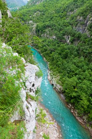 hill of tara: Aerial view of Tara River Canyon, Montenegro