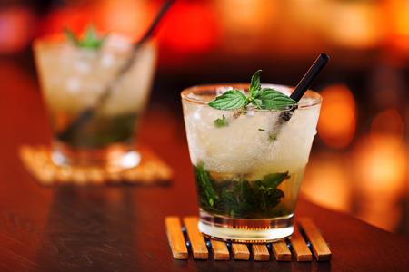 Cocktails collection - Mint Julep  Banque d'images