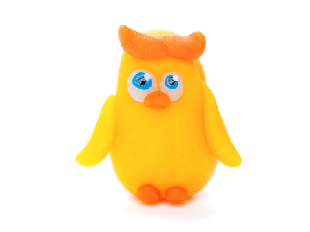 polymer: Owll made of polymer clay