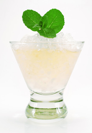 rainbow cocktail: Mint julep cocktail