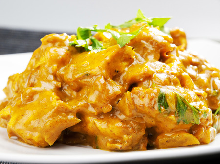 masala: Chicken tikka masala - indian meal