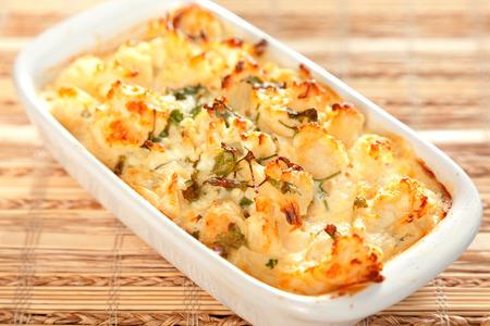 cauliflower: Cauliflower casserole