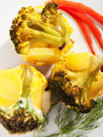 potatos: Potatos with broccoli