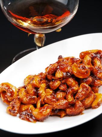 cognac: Candied almonds with cognac