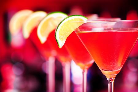 cocktail: A cosmopolitan
