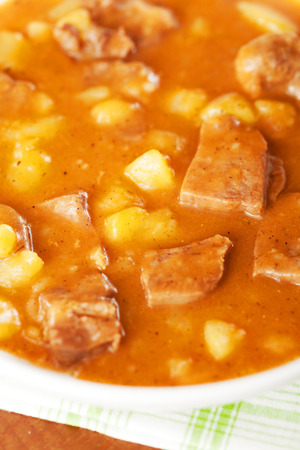 veal: Veal tongue stew