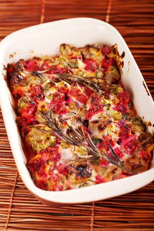 casserole: Lamb and beet casserole