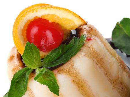 gelatin: Gelatin Dessert close up Stock Photo