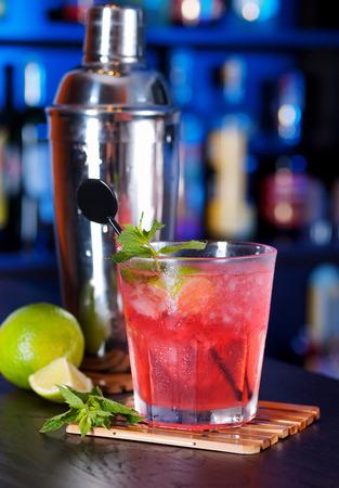 tai: Mai Tai cocktail Stock Photo