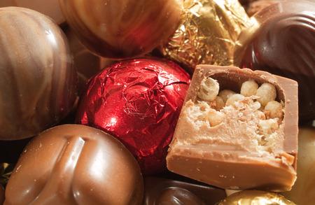 fullframe: Chocolate candies