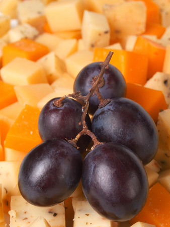 clr: Cheese with grapes