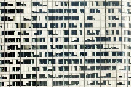 la defense: Close up of office building in La Defense in Paris