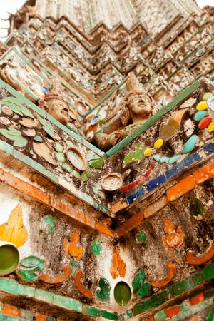 wat arun: Wat Arun Rajwararam, Bangkok, Thailand Stock Photo