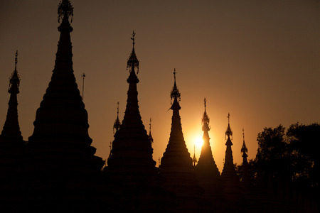 buddhist stupa: Kuthodaw Pagoda is a Buddhist stupa, located in Mandalay, Burma
