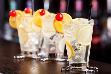 "tom collins: The Tom Collins is a Collins cocktail made from gin, lemon juice, sugar and carbonated water. First memorialized in writing in 1876 by ""the father of American mixology"" Jerry Thomas, this ""gin and sparkling lemonade"" drink typically is"