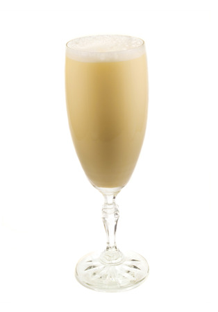 non alcoholic: The moddern eggnog has many variations. The essensial part is non alcoholic and called Egg Batter and is made of: 12 eggs, separated 8 oz sugar  1 qt heavy cream 1 qt milk  The egg batter can then turn in many egg nog variations by mixing with different a