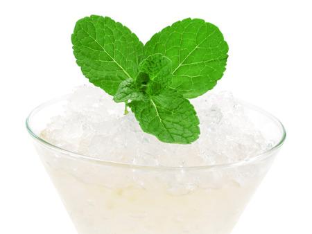 bourbon: Ingredients:  2 Shots Bourbon  0.5 Shot De Kuyper Apricot Brandy  2 Mint Leaves