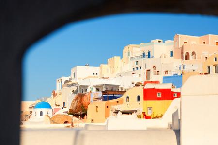 fullframe: Oia, Santorini at daylight